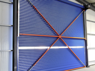 WIND PROTECTION SYSTEM FOR INDUSTRIAL ROLLER SHUTTERS