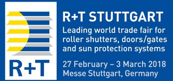 Teilnahme an der R+T 2018 Messe in Stuttgart