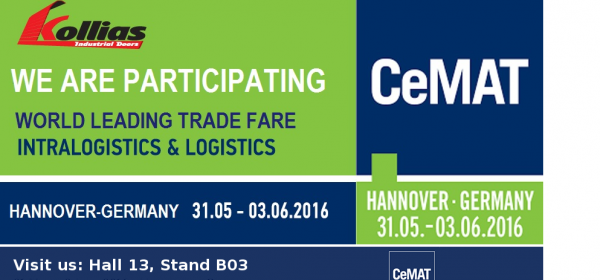 PARTICIPATION IN THE INTERNATIONAL FAIR FOR INTRALOGISTICS & LOGISTICS CeMAT