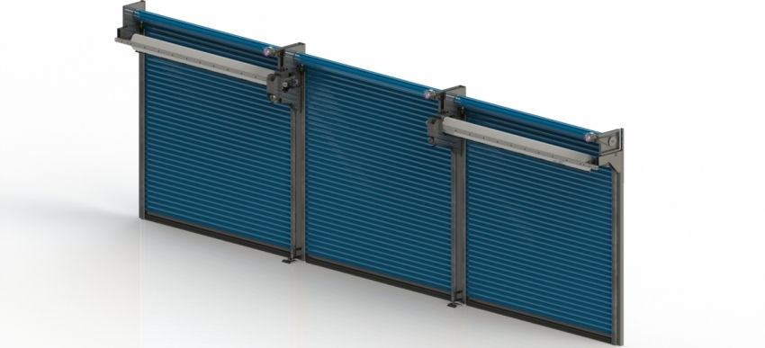 MOVING POST ROLLER SHUTTER SYSTEMS